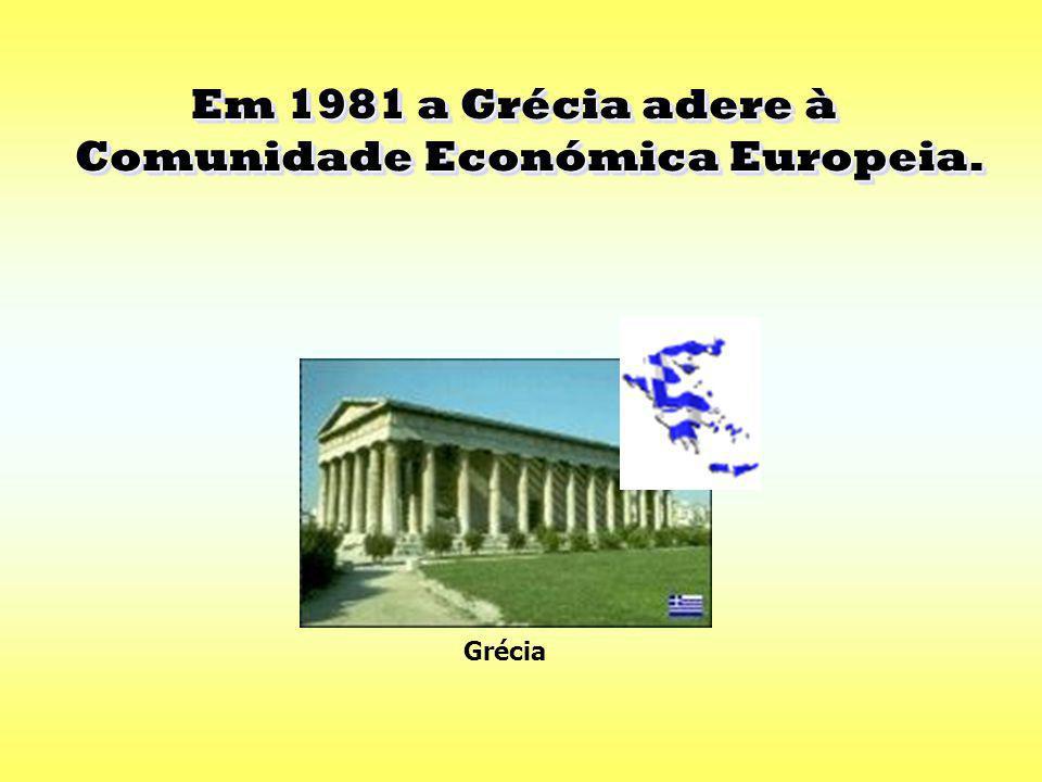Em 1973 vai haver a adesão da Dinamarca, Irlanda e Reino Unido à CEE que passa a ter nove Estados-Membros. Em 1973 vai haver a adesão da Dinamarca, Ir