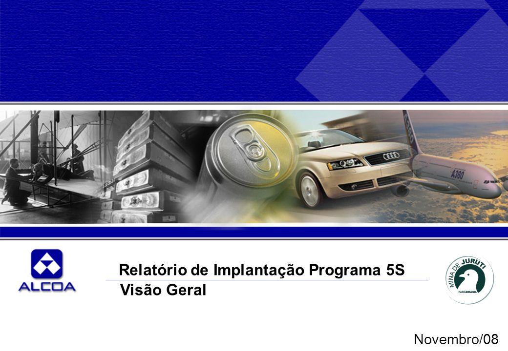Relatório de Implantação Programa 5S Visão Geral Novembro/08