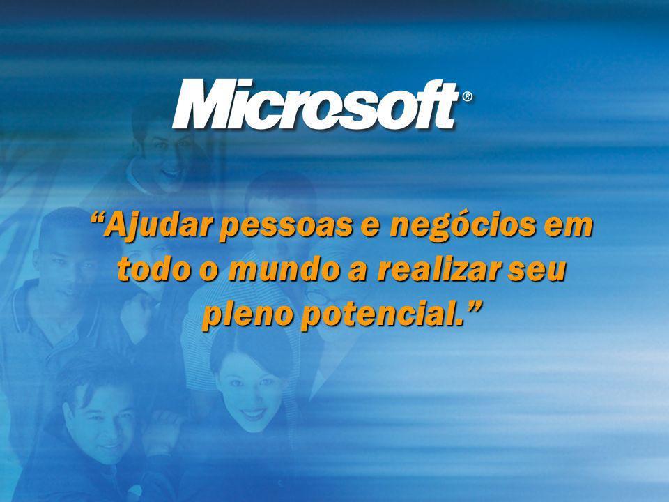 Ajudar pessoas e negócios em todo o mundo a realizar seu pleno potencial.