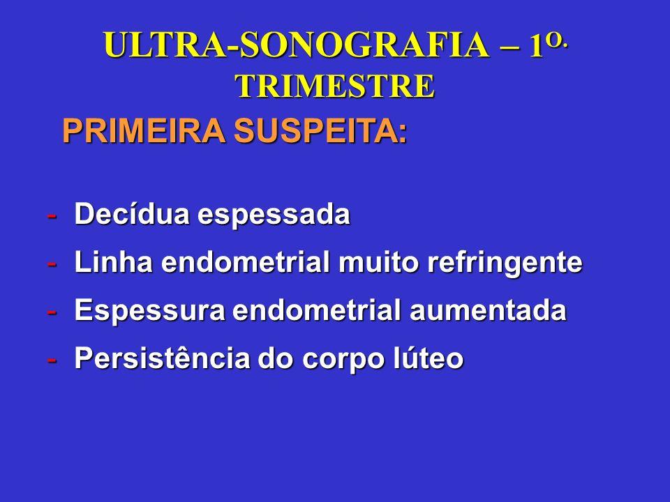 ULTRA-SONOGRAFIA PÉLVICA