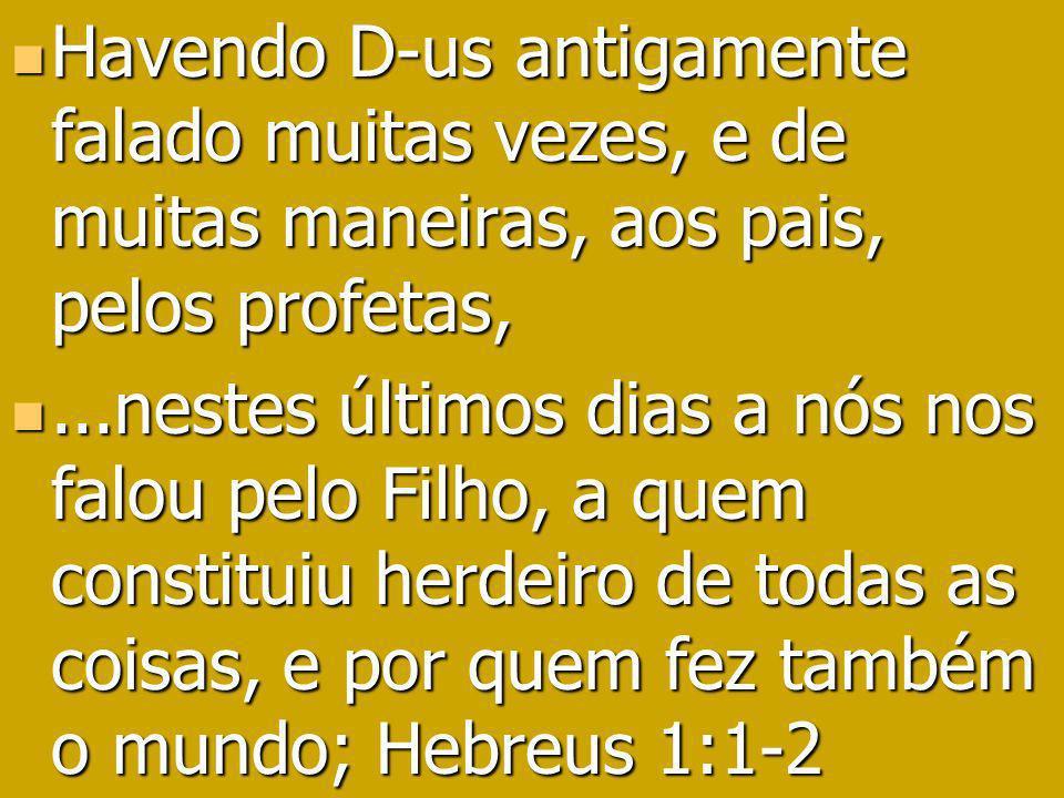 Isaías 44:6 a 8 Isaías 44:6 a 8 Assim diz Iahweh, o rei de Israel, Iahweh dos Exércitos, o seu redentor: Eu sou o primeiro e o último, fora de mim não há D-us.