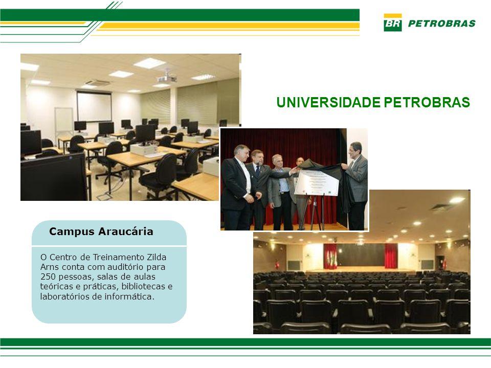 Representantes de Instituições de Ensino em solenidade de assinatura de convênios do PFRH na Universidade Petrobras, em 07/10/10.