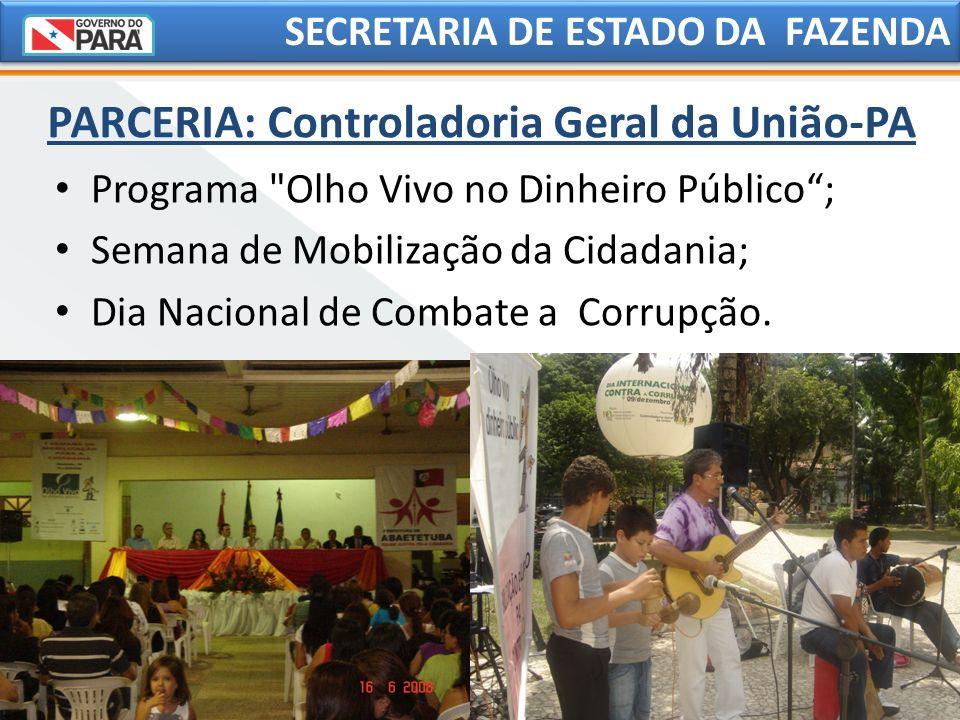 SECRETARIA DE ESTADO DA FAZENDA Programa