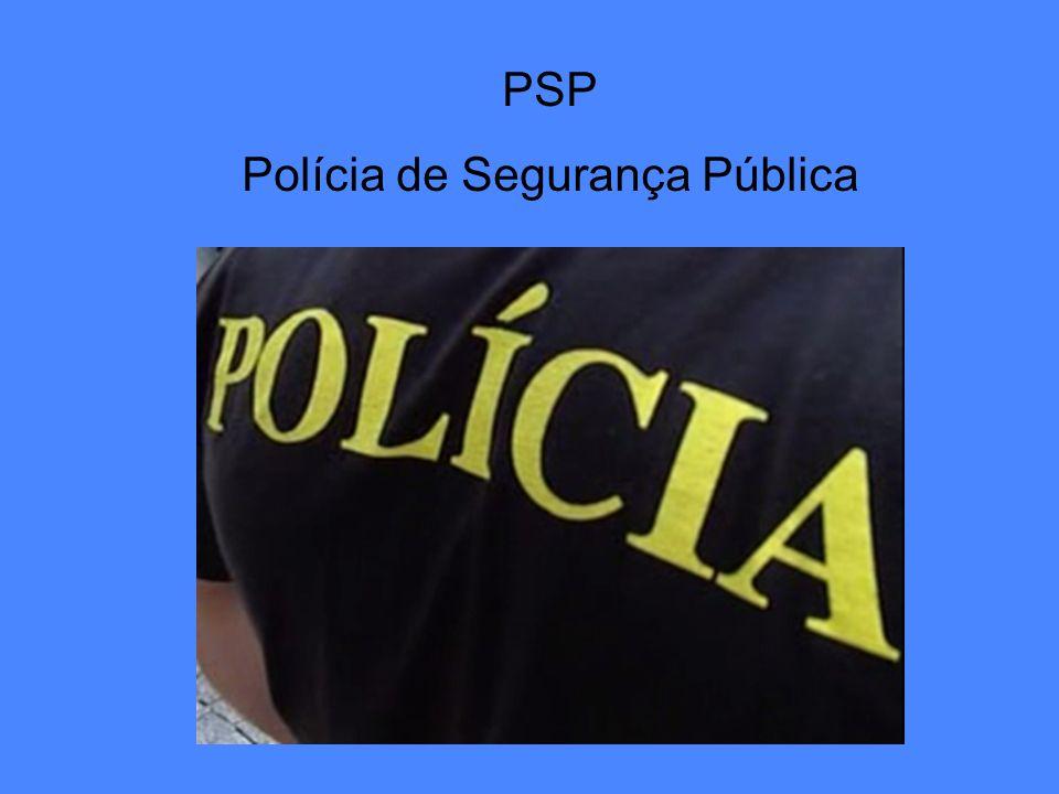 PSP Polícia de Segurança Pública