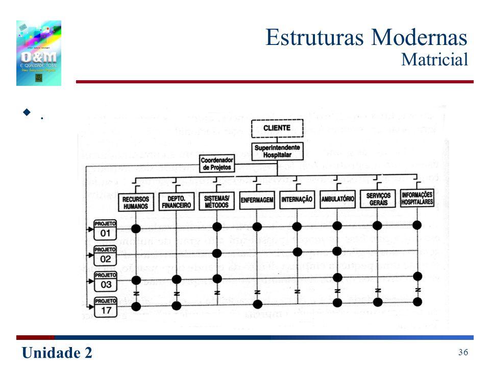 Unidade 2 36 Estruturas Modernas Matricial.