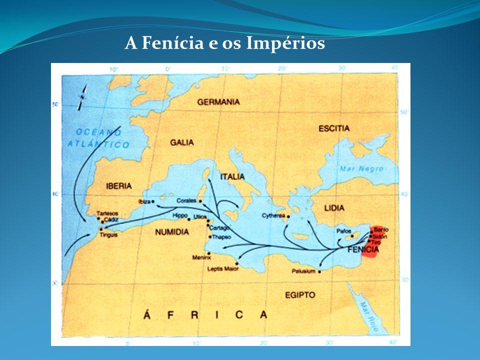 A Fenícia e os Impérios
