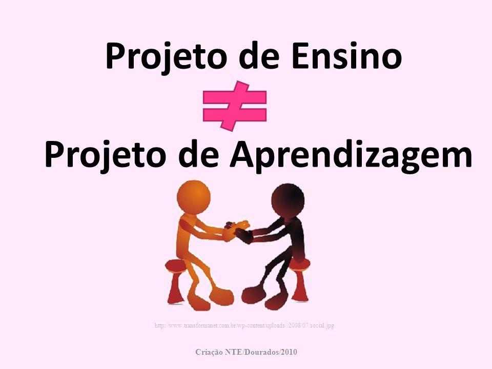 Projeto de Ensino Projeto de Aprendizagem Criação NTE/Dourados/2010 http://www.transformanet.com.br/wp-content/uploads//2008/07/social.jpg