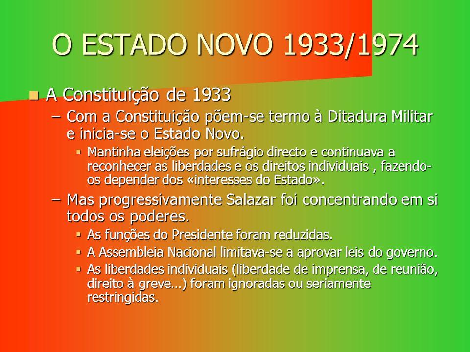 REACÇÃO DO PODER E A VITÓRIA DO MOVIMENTO Marcelo Caetano e os ministros não encontram apoio nas forças fiéis ao regime nem no povo português.