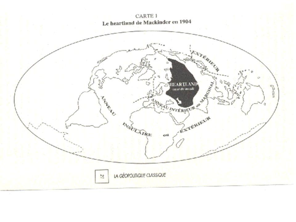 Os continuadores: o Rimland e a Teoria do Poder Aéreo Nicolas Spykman (1893-1943), a projeção polar (pólo norte) e a importância do Rimland (zona-tampão entre o poder terrestre e o marítimo) – preocupação com a segurança dos EUA no mundo bipolar; Douhet e Seversky e o poder aéreo pós Segunda Guerra Mundial