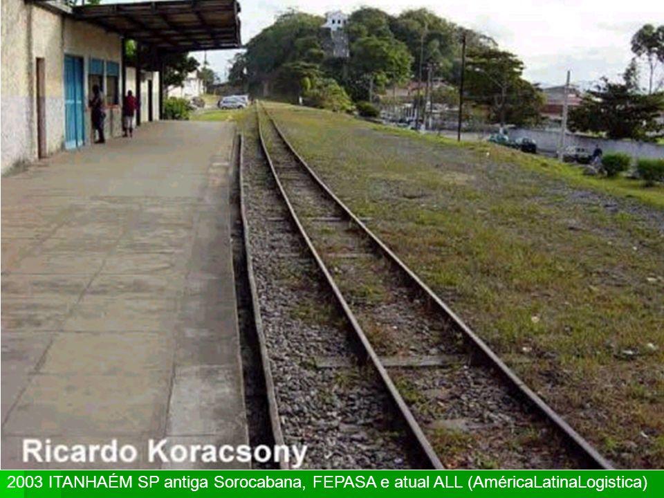 IRAPURÚ SP tronco oeste da antiga Cia Paulista, Fepasa e atual FERROBAN. Uma das melhores coisas que a cidade tinha era a chegada do trem. E agora?
