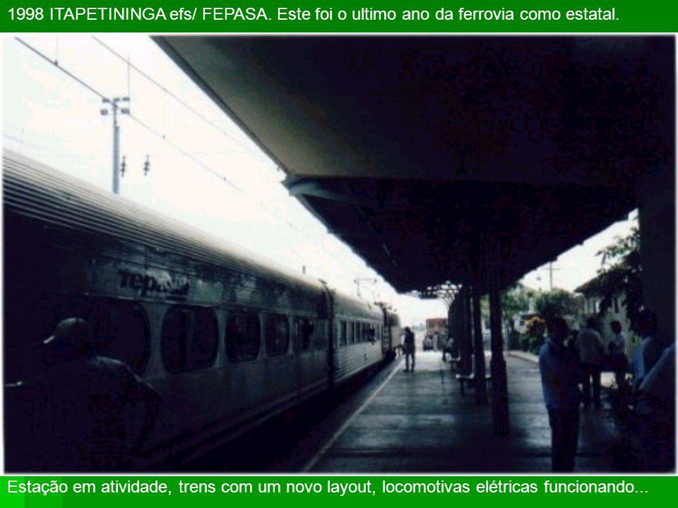 2003 ITANHAÉM SP antiga Sorocabana, FEPASA e atual ALL (AméricaLatinaLogistica)