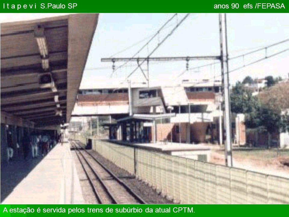 1998 ITAPEVA SP. Este foi o último trem da antiga estatal FEPASA. Milhares de ferroviários perderam seus empregos!
