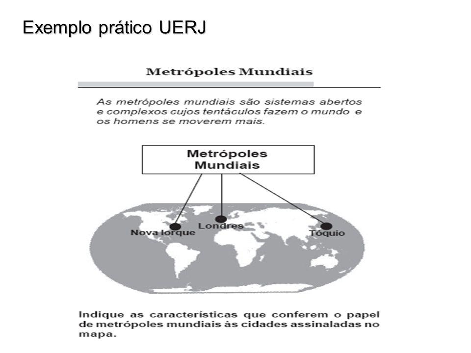 Exemplo prático UERJ Exemplo prático UERJ