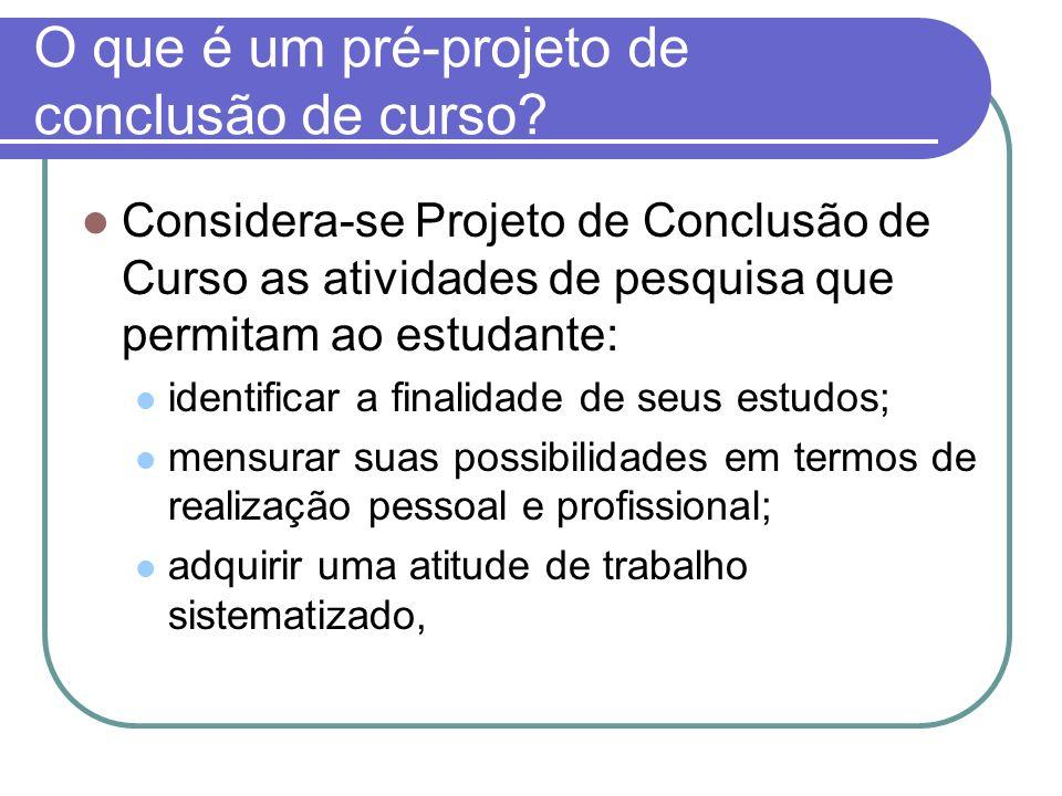 Quais são os objetivos de PCC.1. Oportunizar ao acadêmico a iniciação à pesquisa.