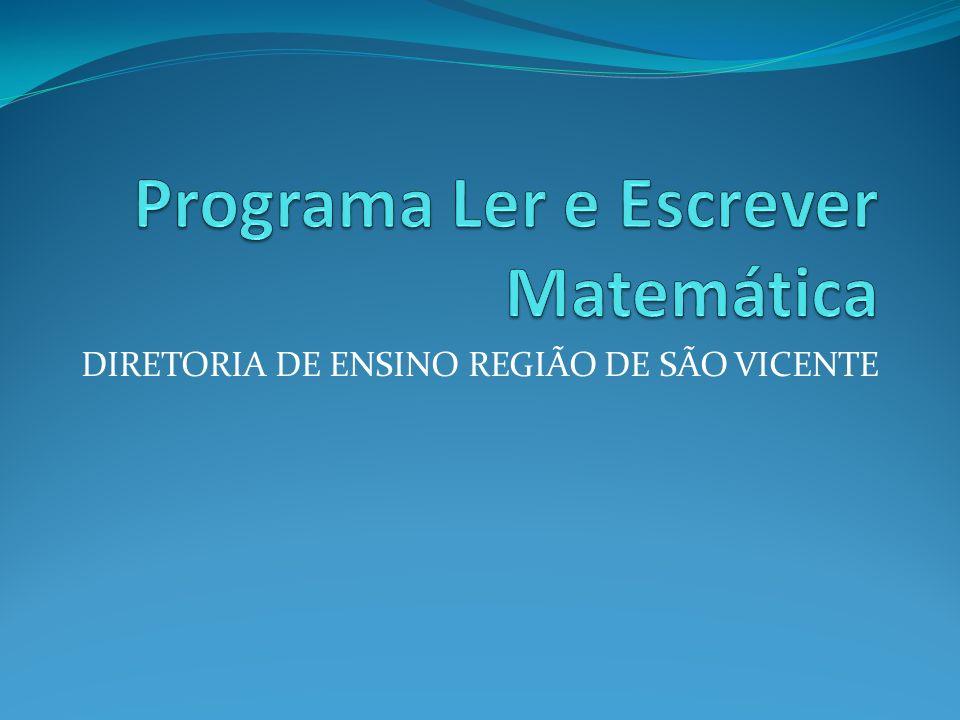 DIRETORIA DE ENSINO REGIÃO DE SÃO VICENTE