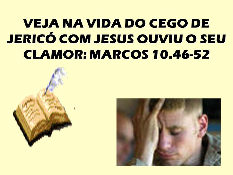 CEGO DE JERICÓ 46 Depois chegaram a Jericó.