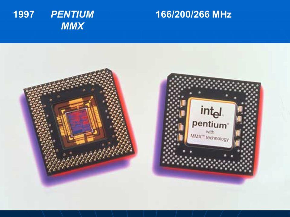 1997PENTIUM MMX 166/200/266 MHz