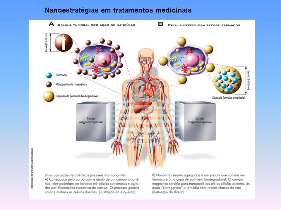Nanoestratégias em tratamentos medicinais