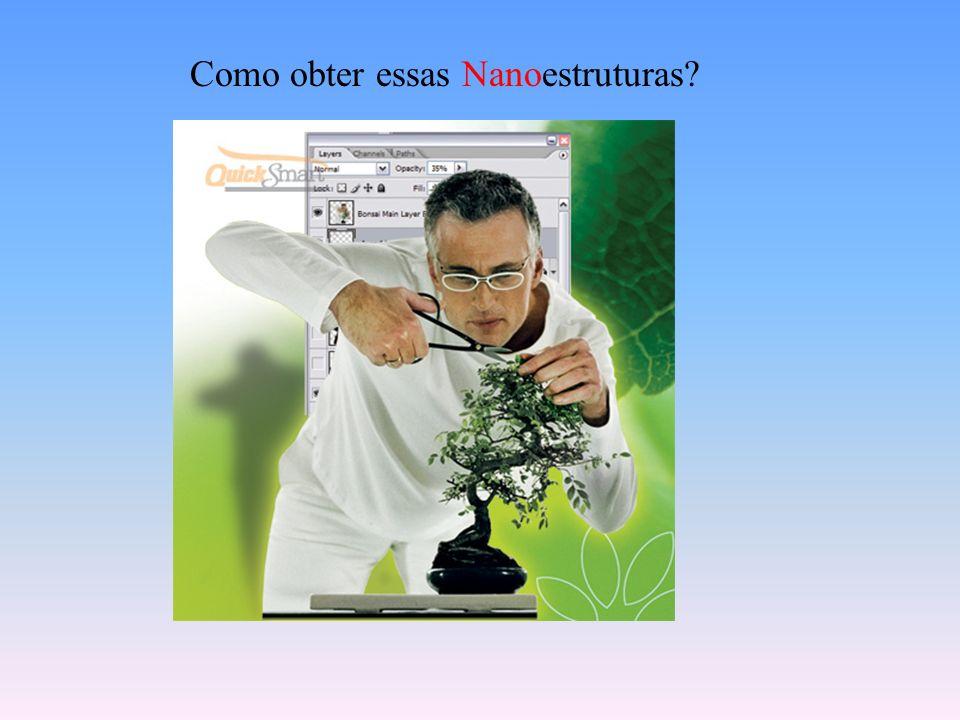 Como obter essas Nanoestruturas?