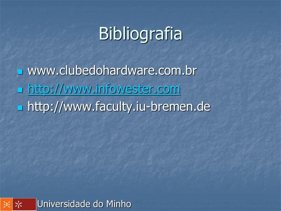 Bibliografia www.clubedohardware.com.br www.clubedohardware.com.br http://www.infowester.com http://www.infowester.com http://www.infowester.com http: