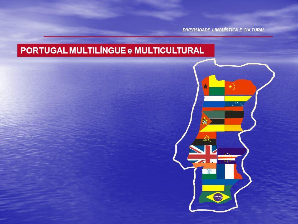 DIVERSIDADE LINGUÍSTICA E CULTURAL PORTUGAL MULTILÍNGUE e MULTICULTURAL