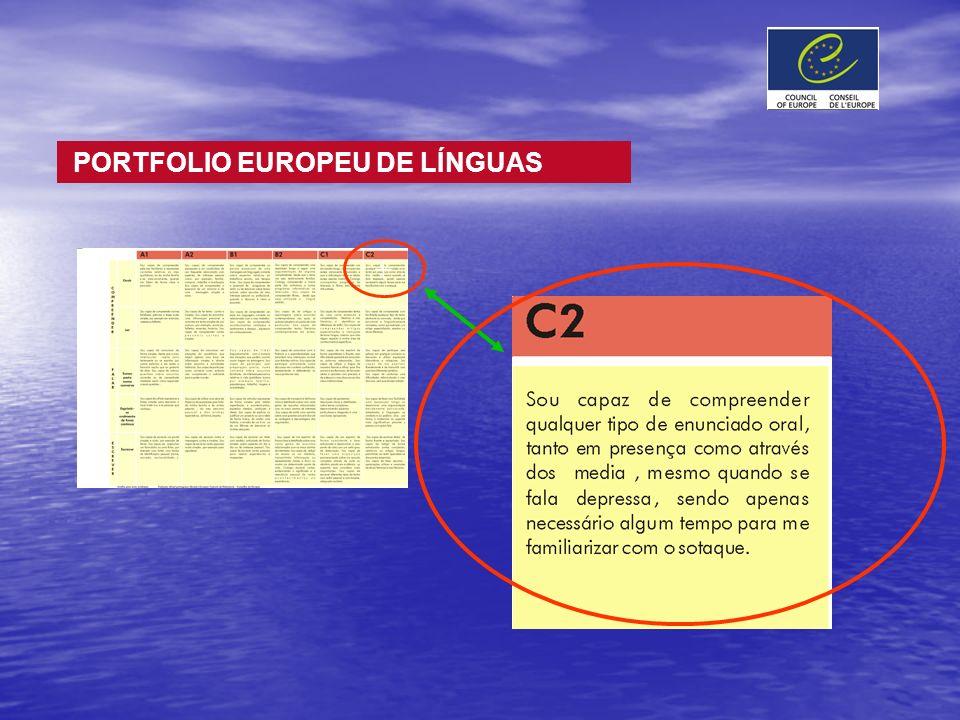 + PORTFOLIO EUROPEU DE LÍNGUAS