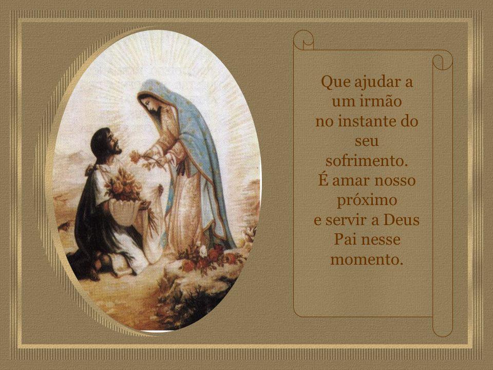 Com o terço na mão e com fé aprendi mãe querida. Que aceitar a vontade de Deus, é o maior bem da vida.