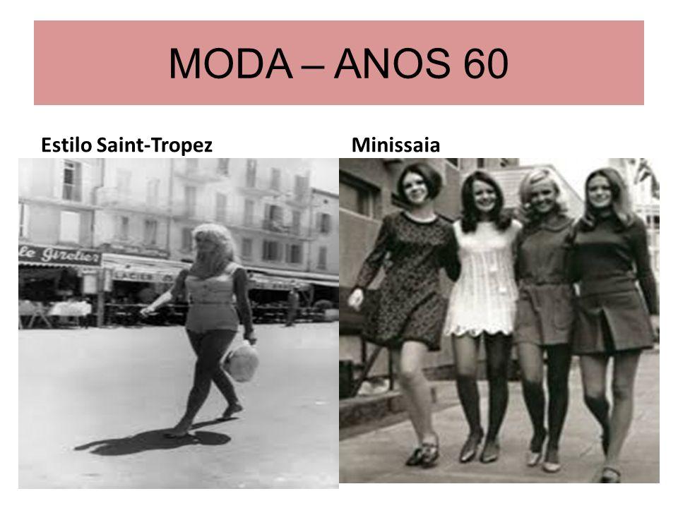 MODA – ANOS 60 Estilo Saint-TropezMinissaia