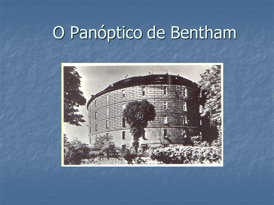 O Panóptico de Bentham O Panóptico de Bentham