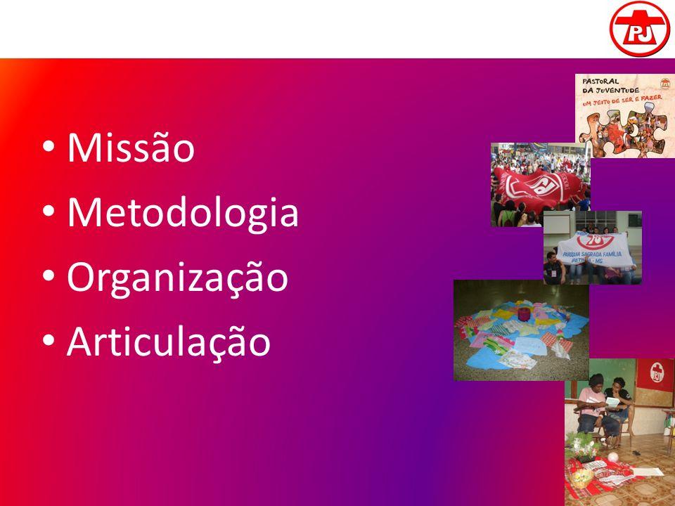 Missão Metodologia Organização Articulação