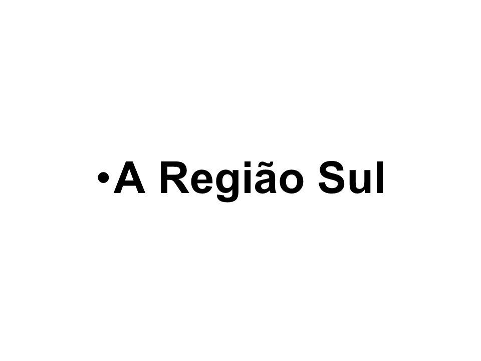 A Região Sul