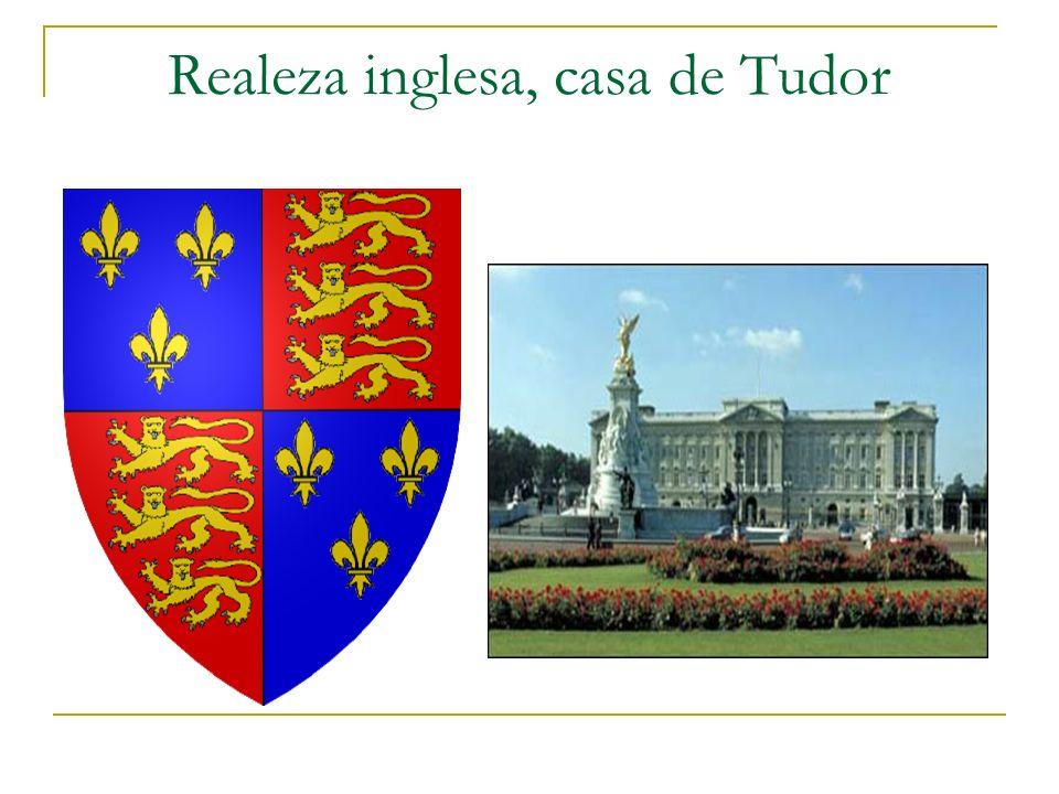 Realeza inglesa, casa de Tudor