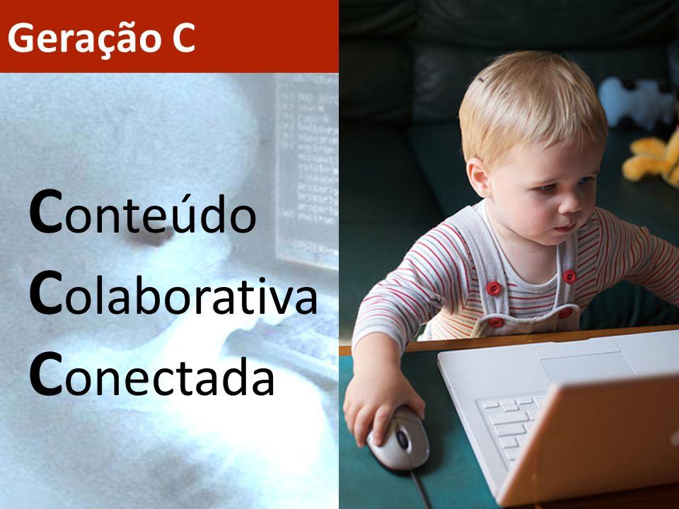 Geração C C onteúdo C olaborativa C onectada