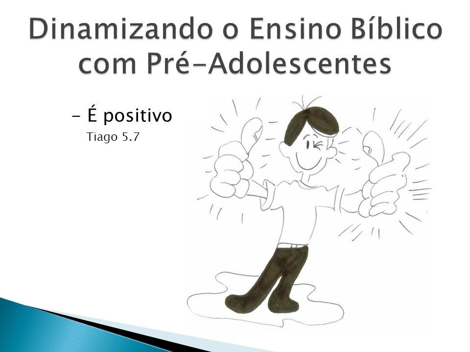 - É positivo Tiago 5.7
