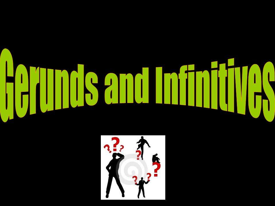 Quando usamos dois verbos juntos na língua inglesa, nem sempre o segundo aparece no infinitivo.