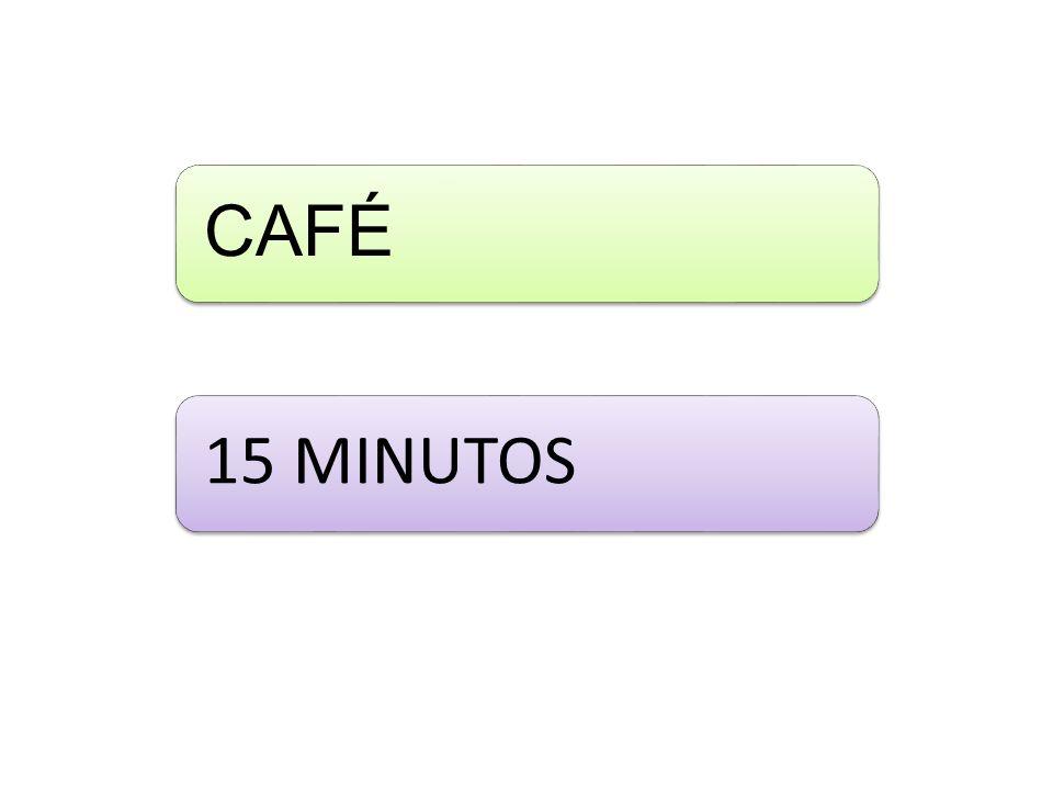 CAFÉ 15 MINUTOS