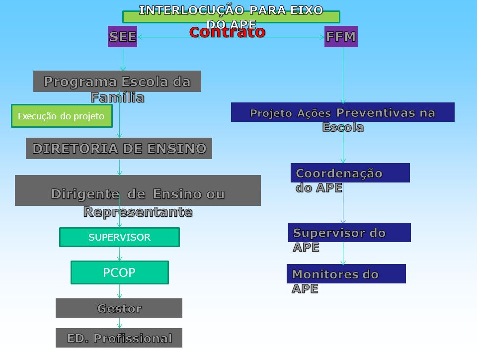 SUPERVISOR PCOP Execução do projeto
