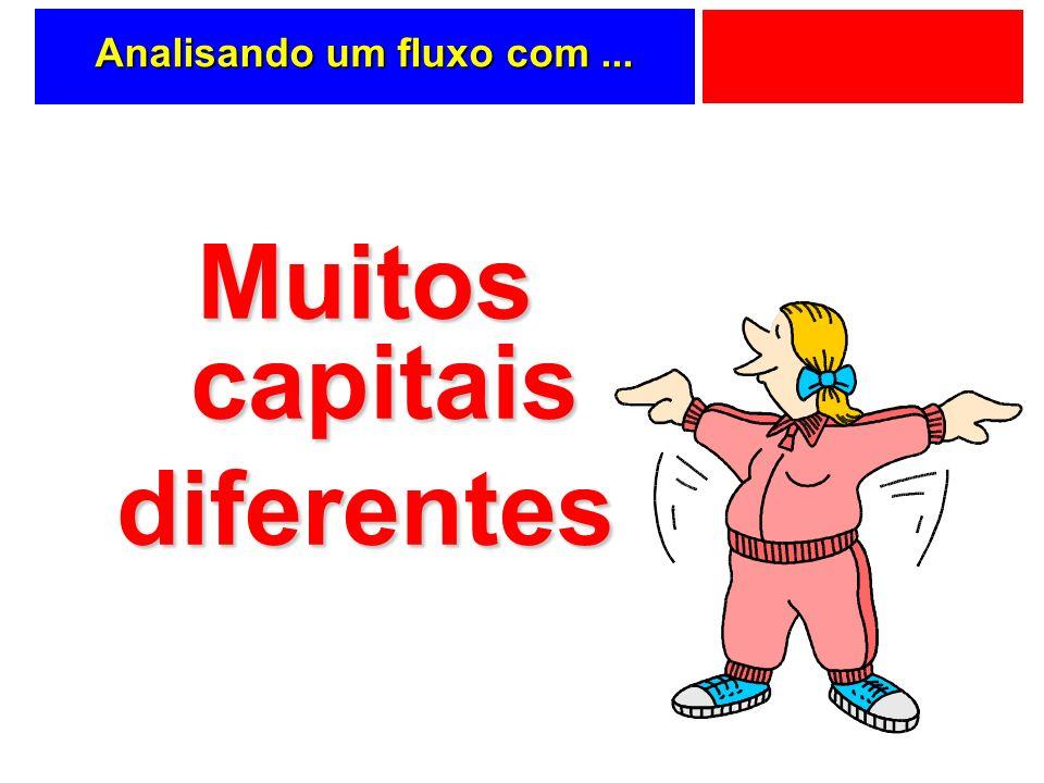 Analisando um fluxo com... Muitos capitais diferentes