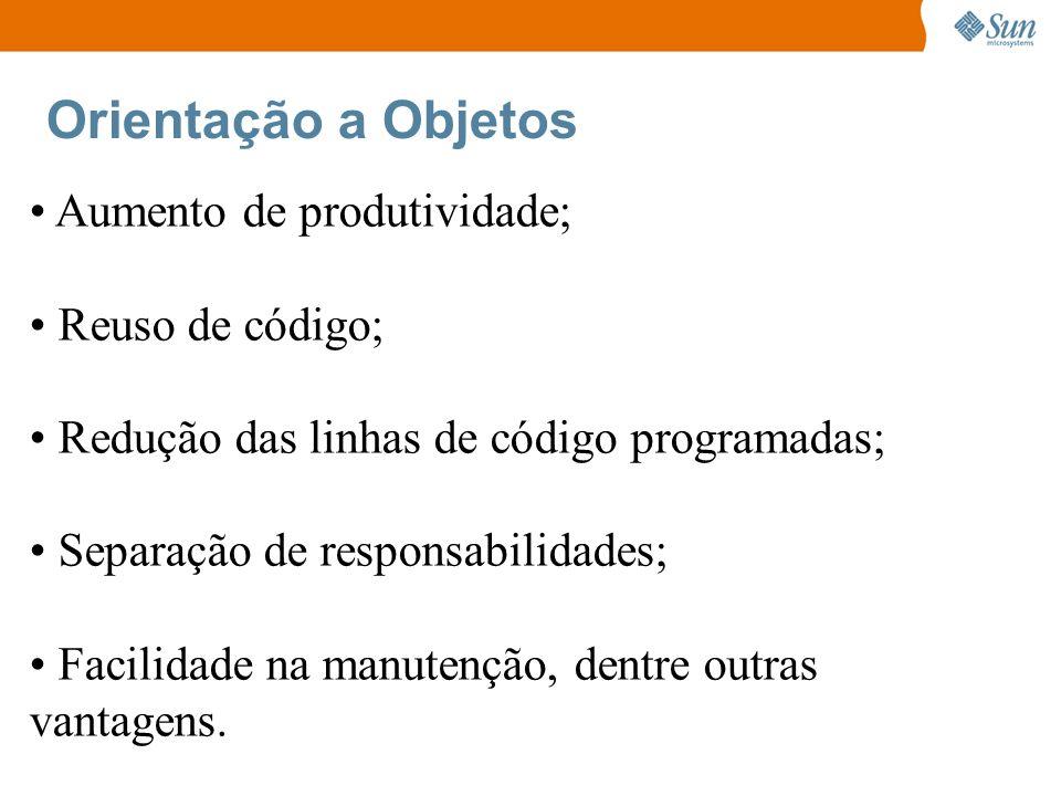 Exercício Correção: public class Principal { public static void main(String[] args) { Pessoa p1 = new Pessoa(); p1.idade = 25; p1.altura = 1.75; p1.peso = 68.8; p1.Calcular(); Pessoa p2 = new Pessoa(); p2.idade = 20; p2.altura = 1.90; p2.peso = 81.5; p2.Calcular(); } } public class Pessoa { int idade; double peso; double altura; void Andar(){ System.out.println( Estou andando! ) } void Calcular{ double result; result = peso * altura; System.out.println( O resultado é: result); }