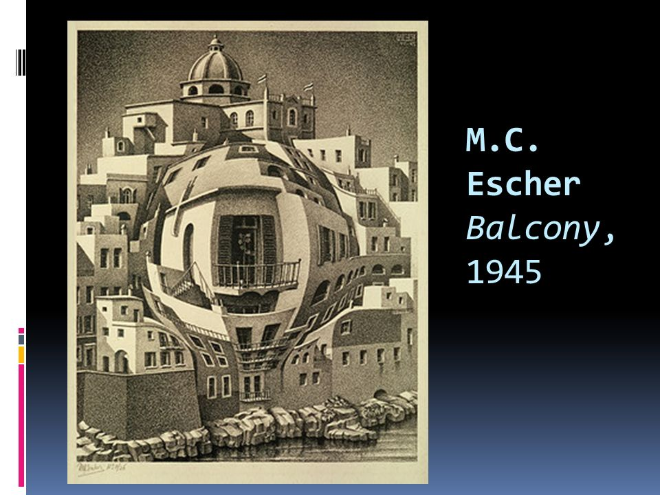 M.C. Escher Balcony, 1945