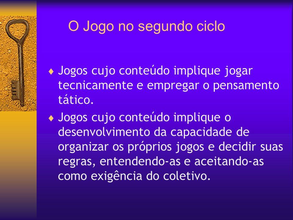Terceiro ciclo: ciclo de ampliação da sistematização do conhecimento – 7a.