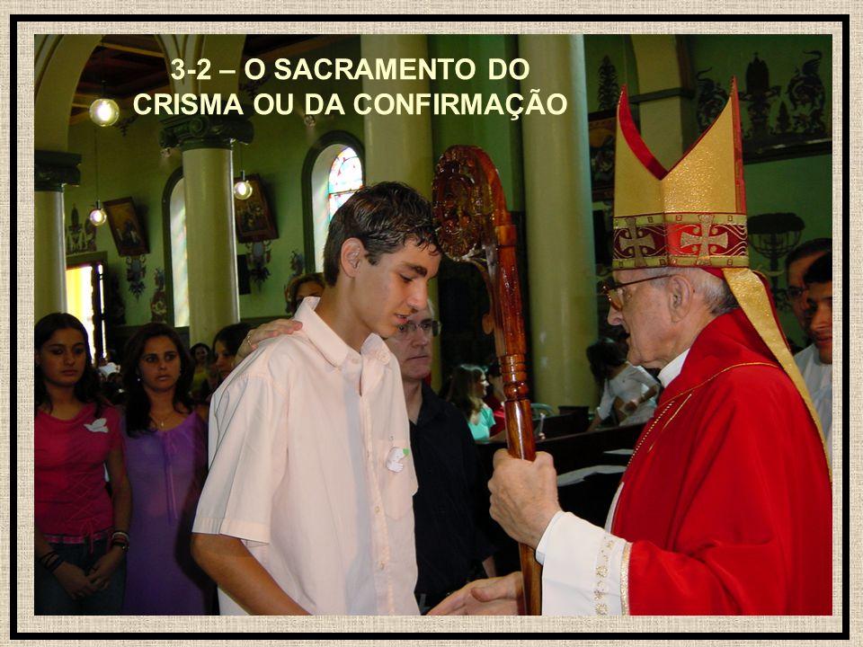 24 3-2 – O SACRAMENTO DO CRISMA OU DA CONFIRMAÇÃO