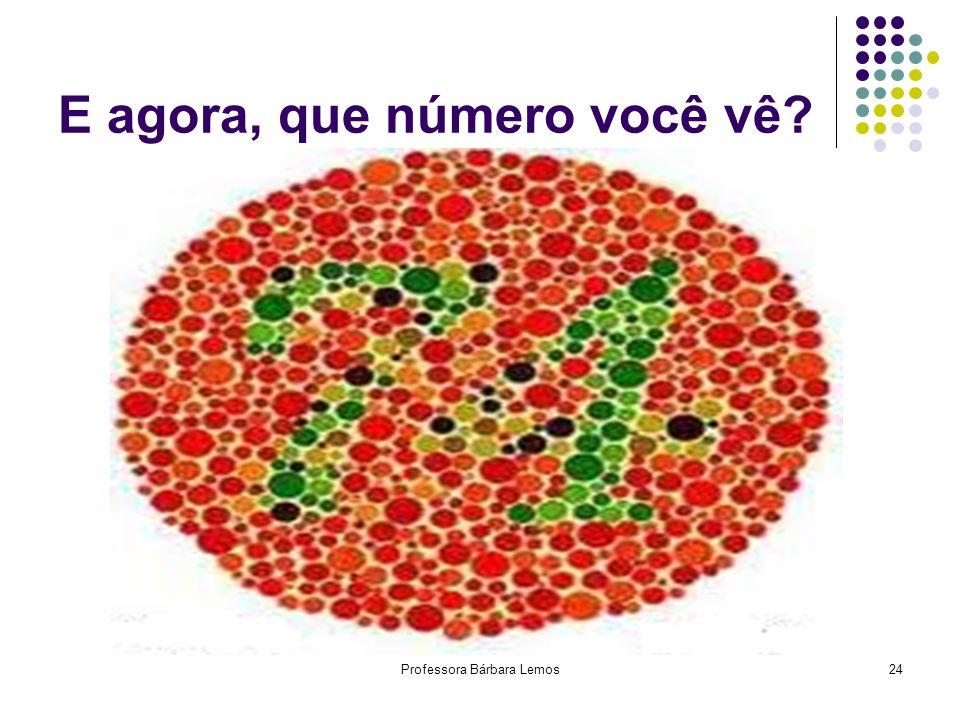 Professora Bárbara Lemos24 E agora, que número você vê?