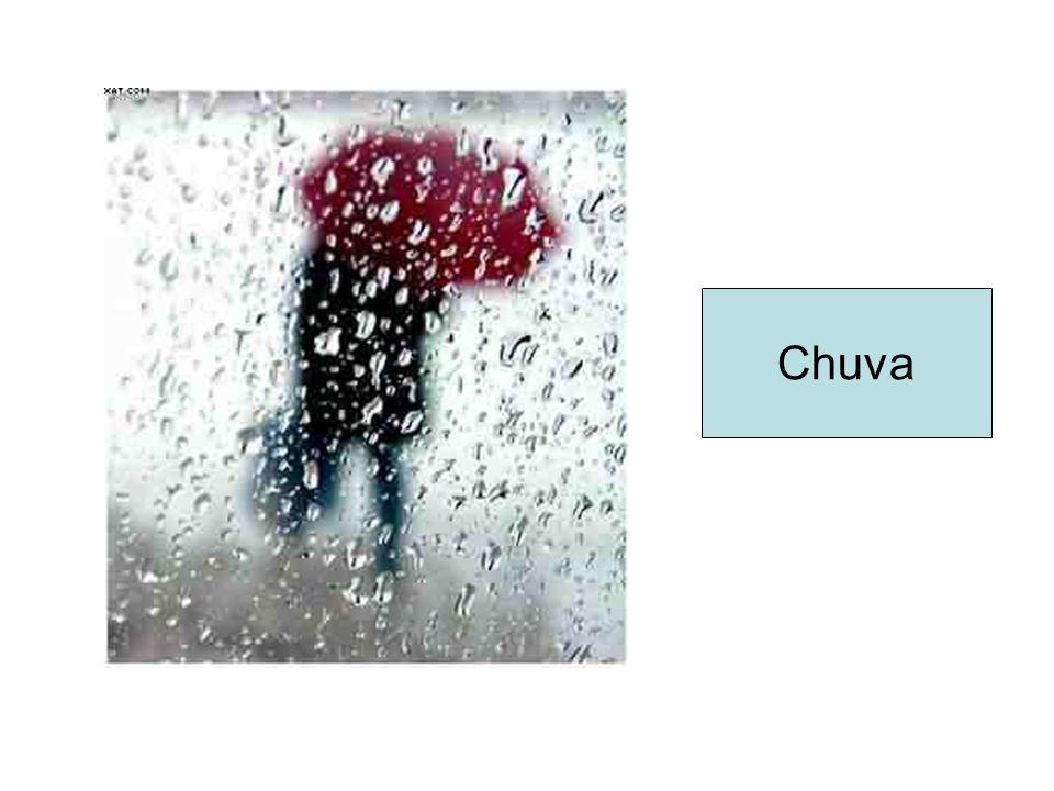 A chuva tem papel importante no ciclo hidrológico.