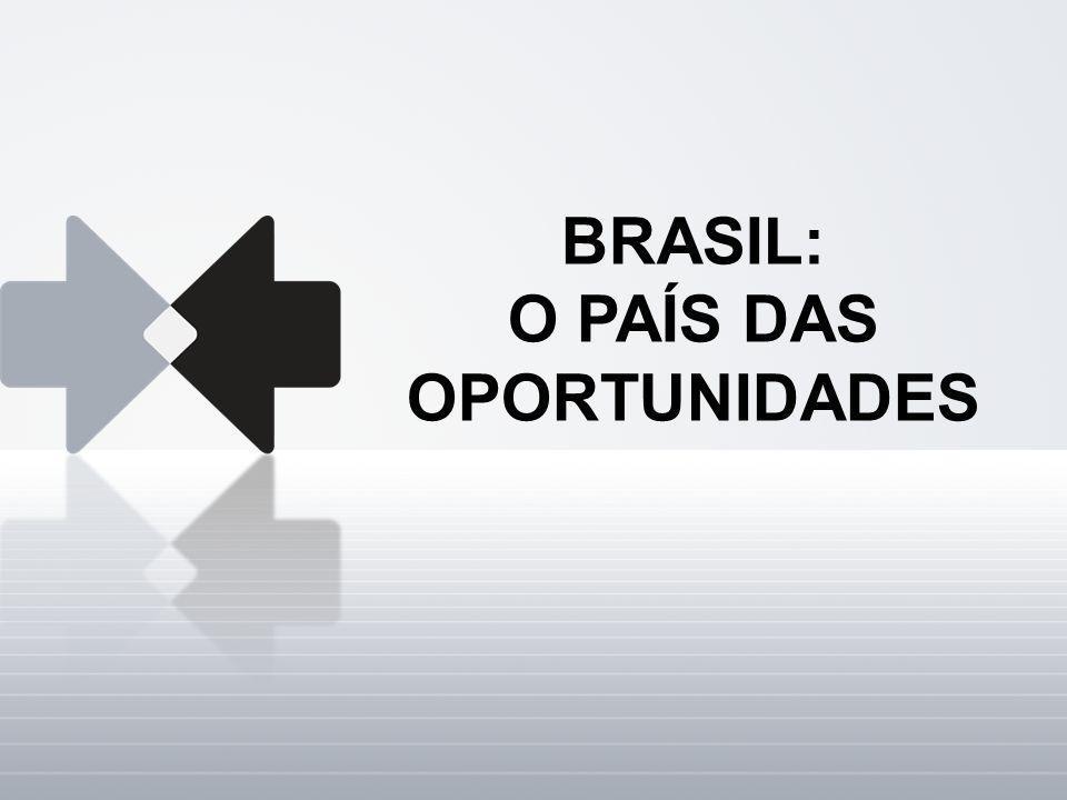 BRASIL: O PAÍS DAS OPORTUNIDADES