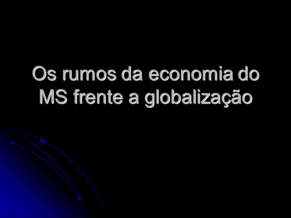 Os rumos da economia do MS frente a globalização
