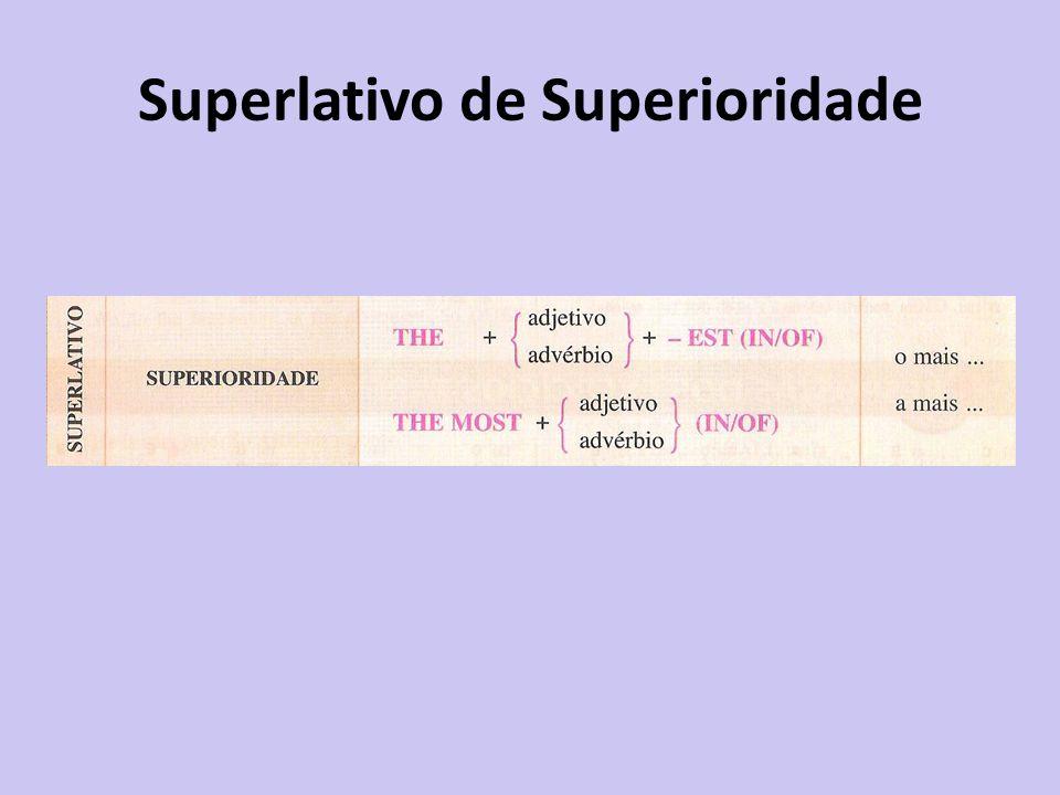 Superlativo de Superioridade