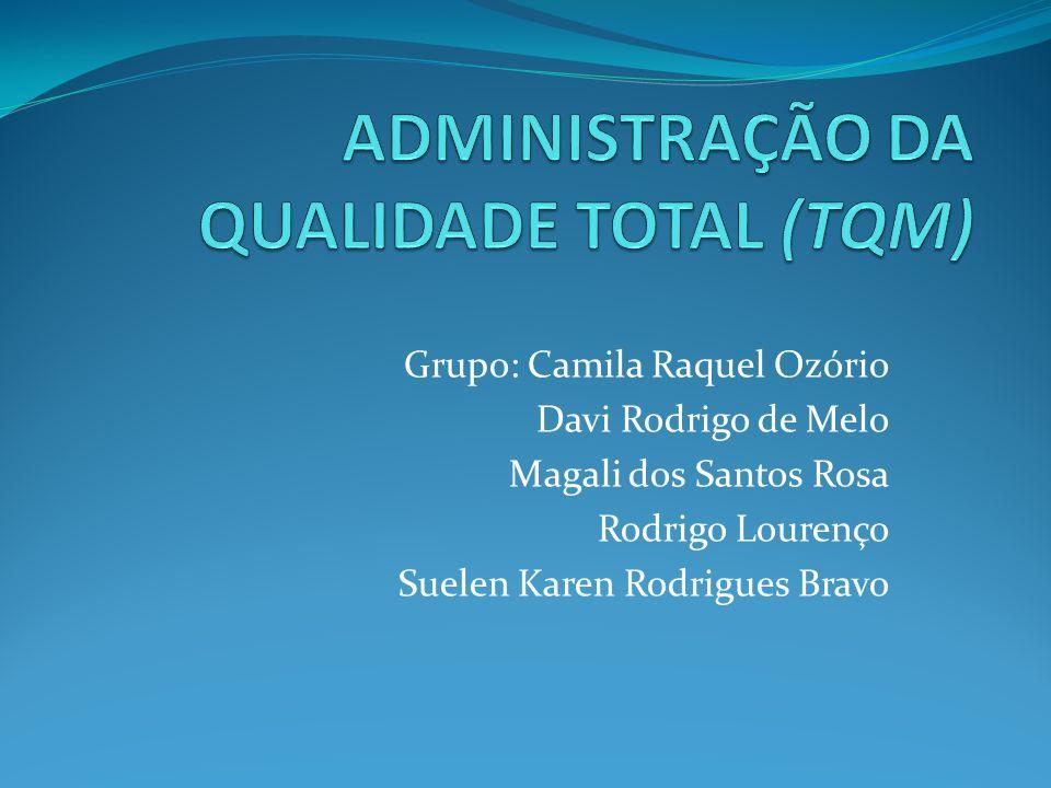 Grupo: Camila Raquel Ozório Davi Rodrigo de Melo Magali dos Santos Rosa Rodrigo Lourenço Suelen Karen Rodrigues Bravo