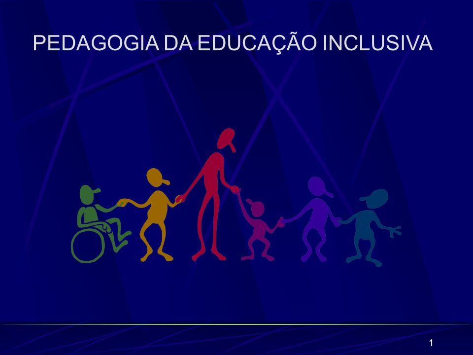 62 UNESCO (1995) sobre os desenvolvimentos da educação no que diz respeito a necessidades especiais em 63 países, revelou que a inclusão é uma idéia crucial nas políticas de muitos dos países da amostra estudada, ainda que só um pequeno número tenha explicitado, de uma forma clara, os seus princípios diretores neste assunto.
