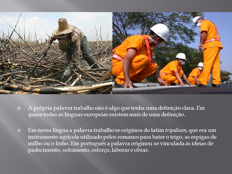 A construção do trabalho assalariado